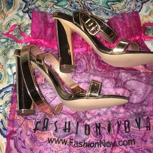 "9442287c6bf Fashion Nova Shoes - Fashion Nova ""Simple   Sleek"" Heels - Rose Gold"